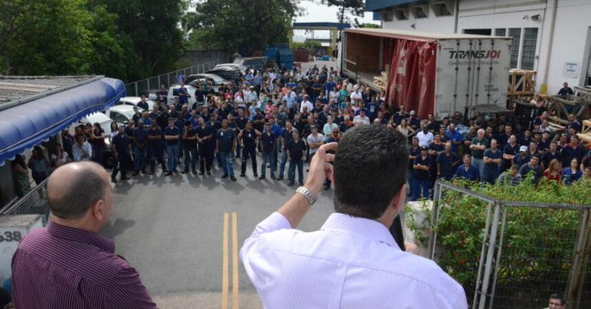 Trabalhadores da KSB votam por garantia de emprego