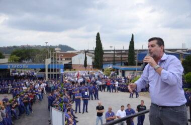 Mobilização do Sindicato sensibiliza Justiça pela recuperação da Sifco