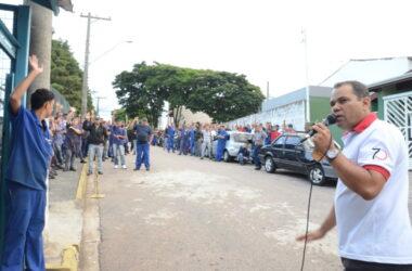 EBF Vaz em estado de greve