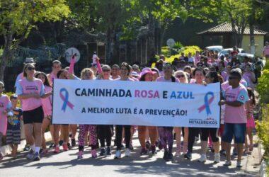 Caminhada Rosa e Azul é sucesso no Clube de Campo