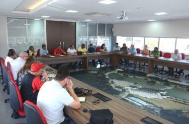 Dirigentes sindicais debatem ações contra as reformas da previdência e trabalhista