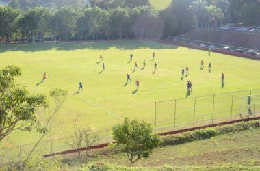 Jogos truncados e poucos gols na abertura do Torneio de Futebol dos Veteranos
