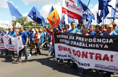 OCUPA BRASÍLIA:Sindicato se junta às 100 mil vozes contra a Reforma