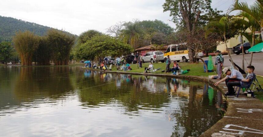 Pescadores se divertiram no Torneio de Pesca dos Metalúrgicos