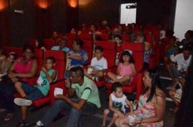 Cinearte para comemorar o Dia das Crianças