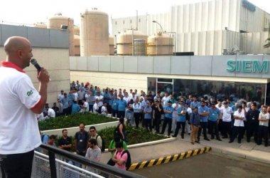 Na Siemens, Sindicato ressalta a importância da união na luta por direitos