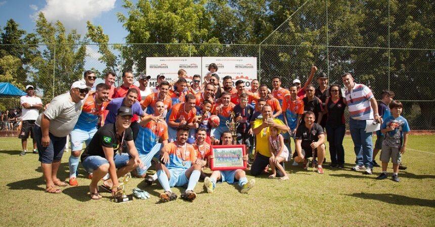 Atlafut leva título do Campeonato de Futebol dos Metalúrgicos
