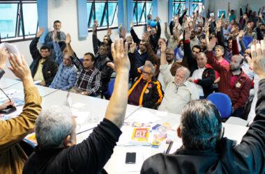 Em plenária na Federação, Metalúrgicos aprovam campanha unificada em defesa da Convenção Coletiva