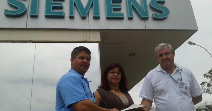 Funcionária é reintegrada na Siemens