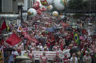 Manifestações populares marcaram o mês de março