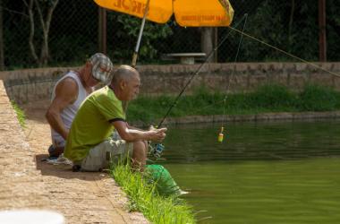 Lago Grande: 750 quilos de peixe para garantir boa pescaria!