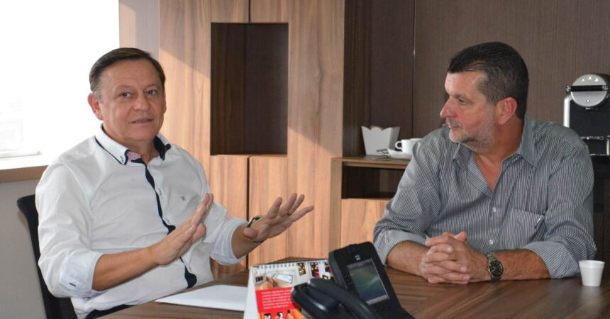 Prefeito de Jundiaí visita Sindicato e anuncia obras do BRT