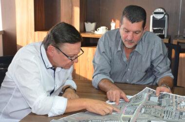 Prefeito de Jundiaí visita Sindicato e detalha obras do BRT