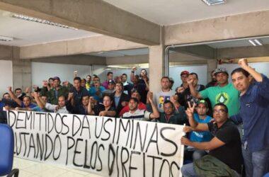Sindicato e demitidos da Usiminas fazem reunião no Ministério do Trabalho