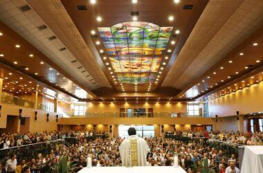 Forte demonstração de fé marca início da festa de 1 ° de Maio