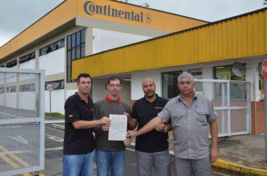 Trabalhador da Continental é reintegrado