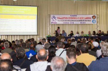 Jundiaí sedia plenária com 53 sindicatos do Estado de São Paulo