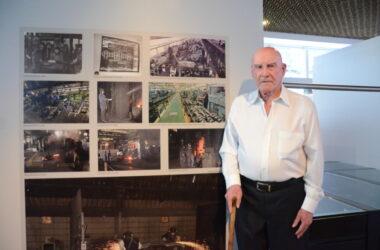 Fundador da AAPJR visita o Museu do Metalúrgico