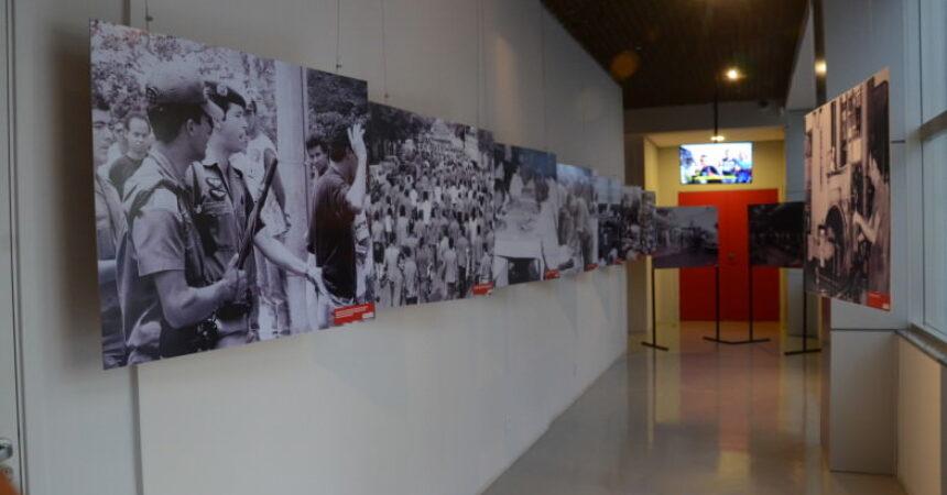 """Abertura da exposição """"Força Metalúrgica: História de Luta"""" é marcada pela emoção"""