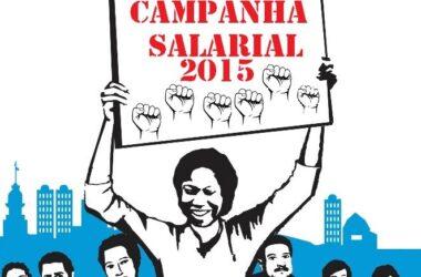 Campanha Salarial 2015: compareça na assembleia geral do dia 1 ° de novembro