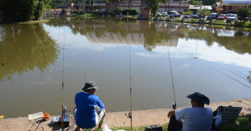 Neste sábado (15) tem pescaria no Lago Grande