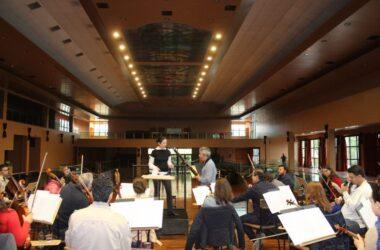 Orquestra Municipal de Jundiaí faz ensaio no Espaço M