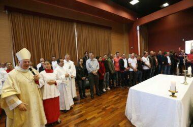 Bispo Dom Vicente celebra missa em ação de graças pelo Dia do Trabalho