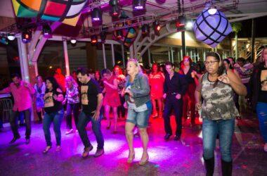 Público foi DJ na Noite do Flashback