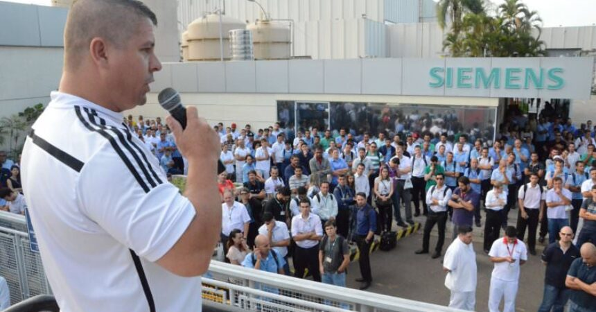 Siemens: mobilização busca avanços na PLR