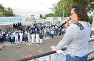 Siemens: trabalhadores aprovam os avanços obtidos na PLR