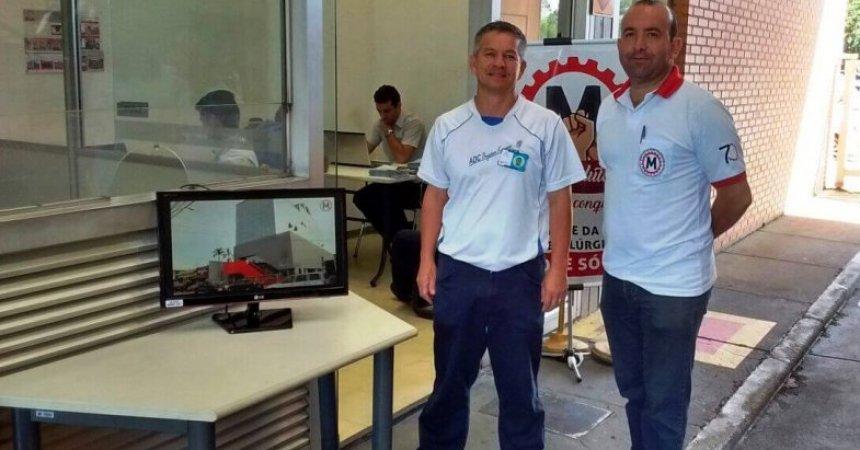 """Sindicato inicia a campanha de sindicalização """"Sem Luta Não Há Conquistas"""""""