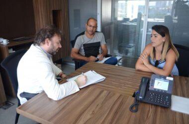 Pesquisador se reúne com diretores sindicais para tratar sobre relações trabalhistas