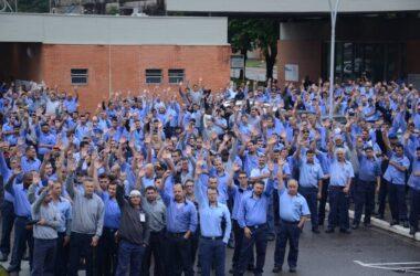 Trabalhadores da Thyssenkrupp aderem à Greve Geral
