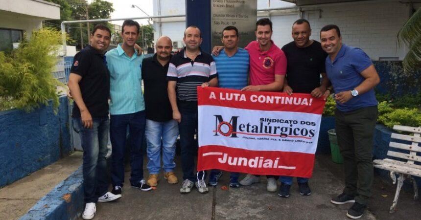 Diretores participam de Encontro dos trabalhadores da Thyssenkrupp