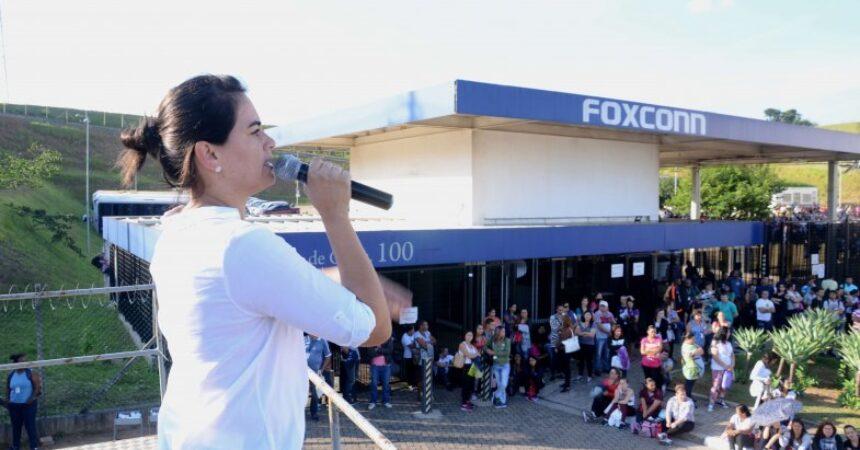 Foxconn II: trabalhadores aprovam PLR