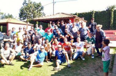Confraternização reuniu trabalhadores da matrizaria da Thyssenkrupp