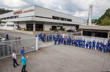 Sindicato mobiliza trabalhadores da Suprens