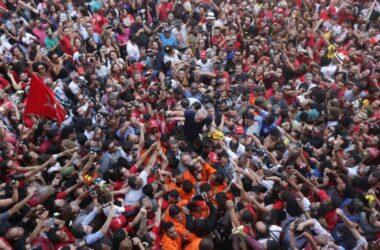 """""""Minhas ideias estão no ar e não têm como prendê-las"""", garantiu Lula em discurso"""