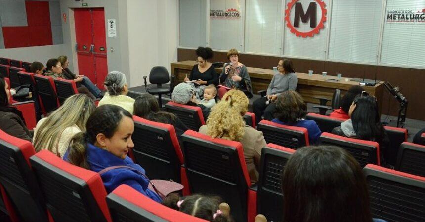 A representatividade feminina foi tema de debate no Sindicato