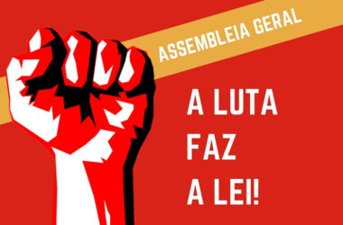 Assembleia Geral da Negociação Coletiva é domingo (16). MARQUE PRESENà‡A!