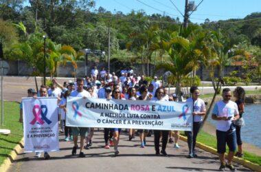 Saúde e bem-estar: Caminhada Rosa e Azul será neste domingo (20)