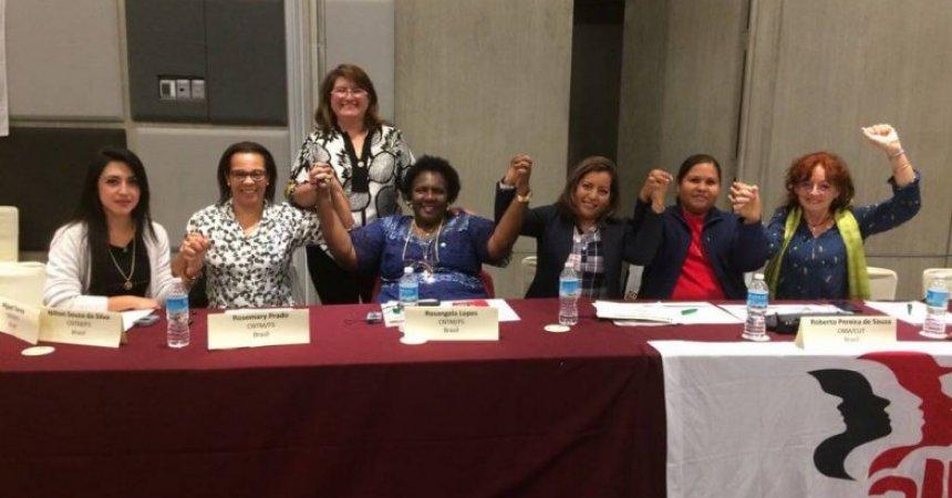 Vice-presidente do Sindicato participa de conferência na Cidade do México
