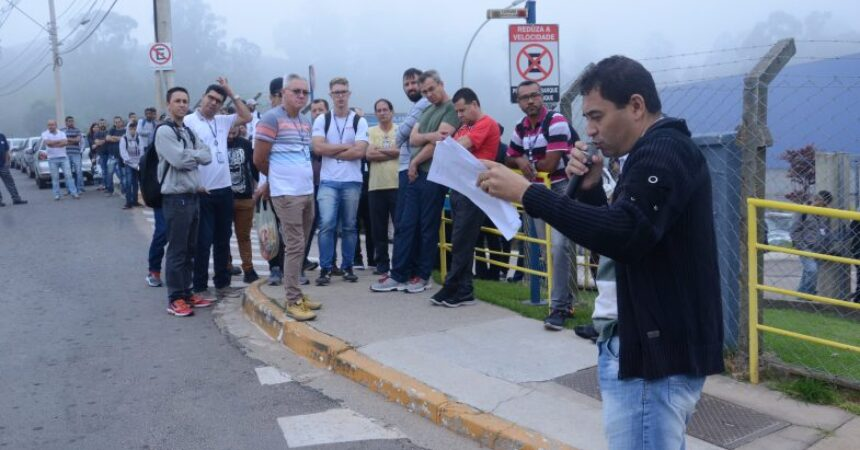 Sindicato mobiliza trabalhadores da Sulzer em torno de reivindicações