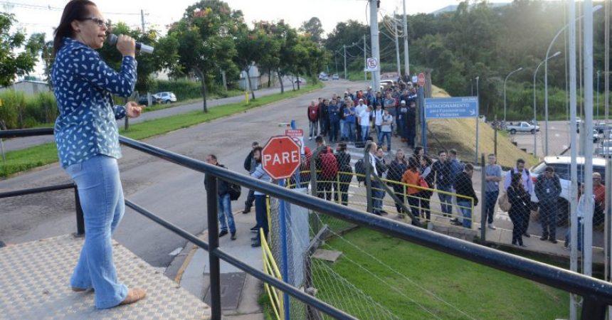 Sulzer: nova mobilização em torno de reivindicações trabalhistas