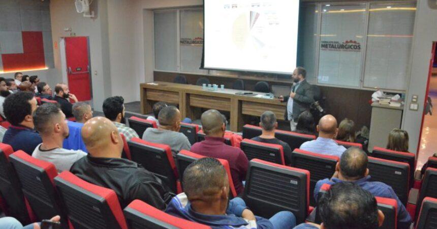 Sindicato abre a 4ª Semana do Metalúrgico alertando sobre os impactos da Reforma da Previdência