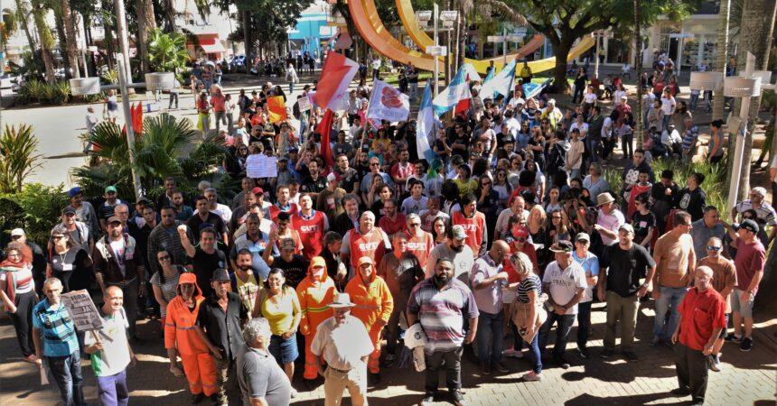 Atos e paralisações marcam dia da Greve Geral em Jundiaí