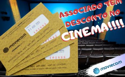 Associados do Sindicato têm desconto no Moviecom