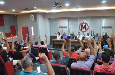 Negociação Coletiva 2019: metalúrgicos aprovam pauta de reivindicações
