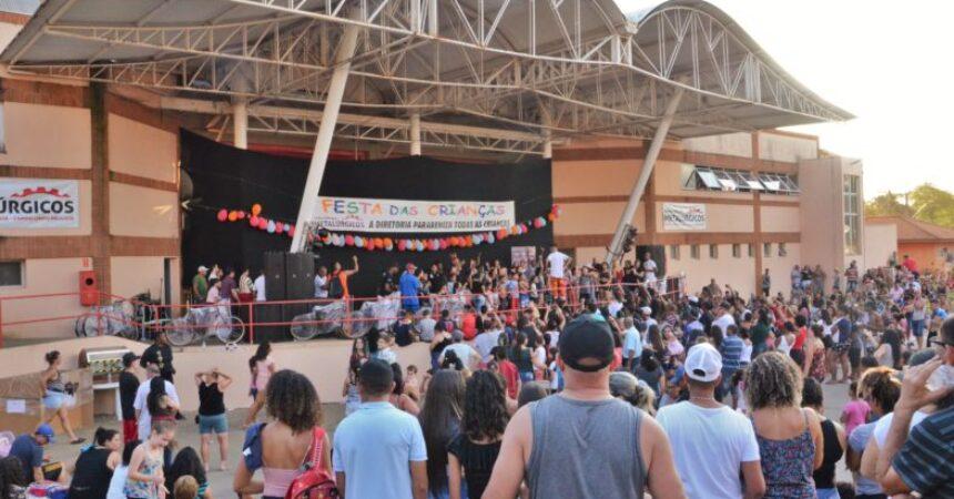 Calor, diversão e música coroaram o Dia das Crianças no Clube de Campo