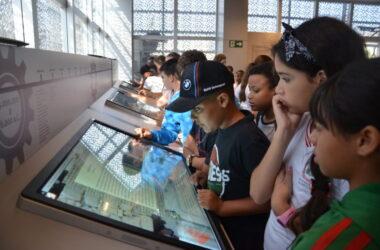 Alunos do CEMEB São Miguel Arcanjo visitam o Sindicato